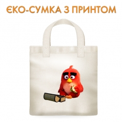 Эко-сумка  Angry Birds Red Bird With Sandwich