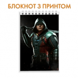 Блокнот Injustice Robin