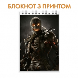 Блокнот Injustice Scarecrow