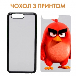 Чехол Angry Birds Red Bird art