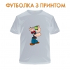 футболка Popeye the Sailor Power, серая