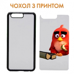 Чехол Angry Birds Red Bird With Sandwich art