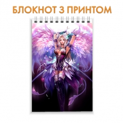 Блокнот Perfect World Beautiful Girl Print