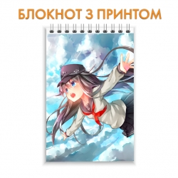 Блокнот Kantai Collection Flying Hibiki
