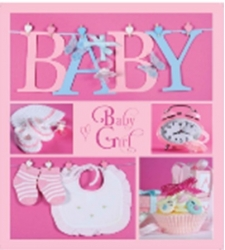 Фотоальбом EVG 10x15x56 BKM4656 Baby collage Pink