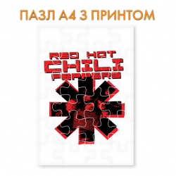 Пазл  Red Hot Chili Peppers 2