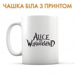 Чашка Alice in Wonderland Logo