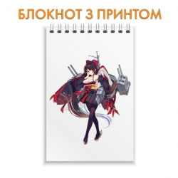 Блокнот Azur Lane Hero Print 0013
