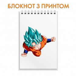 Блокнот Dragon ball Flying Hero