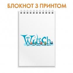 Notebook Jetix Witch Logo